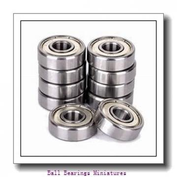 3mm x 9mm x 2.5mm  ZEN smf93-zen Ball Bearings Miniatures