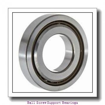 40mm x 72mm x 15mm  Nachi 40tab07u/gmp4-nachi Ball Screw Support Bearings